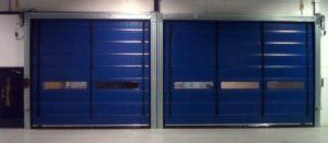High Speed Stacking Roller Doors