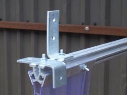 PVC Strip Bolt On Fixing