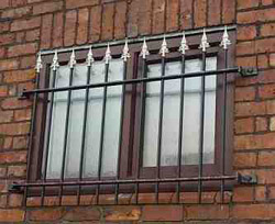 Steel Window Grille