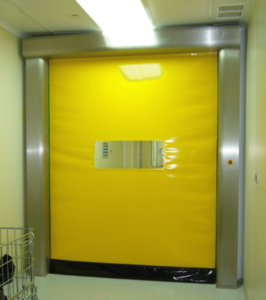 Yellow High Speed Door