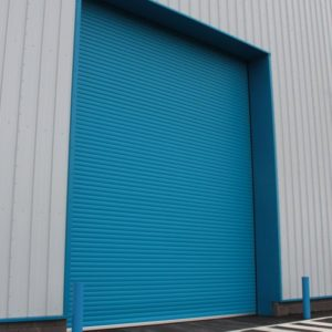 Twin Skin Insulated, Powder Coated Roller Shutter