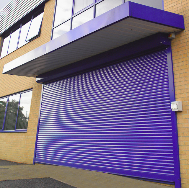 Powder Coated Roller Shutter- Westwood Security Shutters Ltd