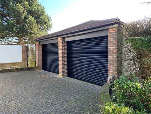 Domestic Powder Coated Roller Shutters, Essex
