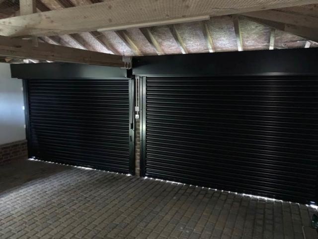 Domestic Powder Coated Roller Shutter Interior