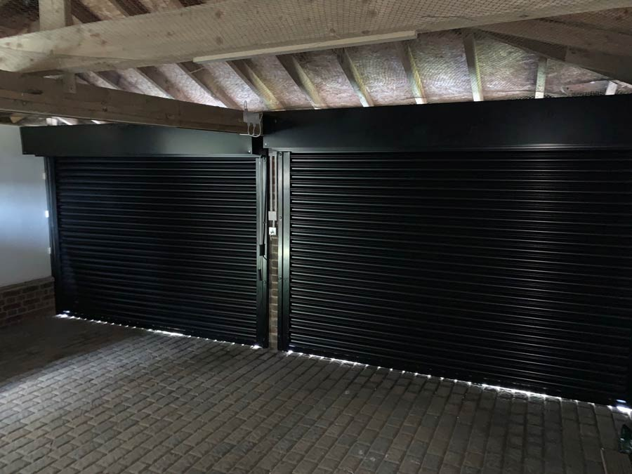 Domestic Powder Coated Roller Shutter Interior