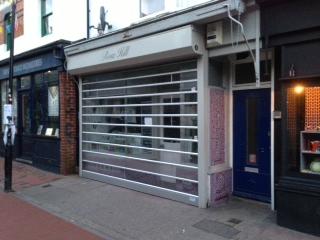 transparent roller shutters uk