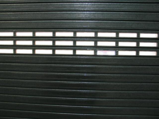 Twin Skin Perspex Window Roller Shutters