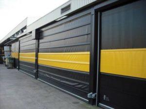 High Speed Stacking Doors