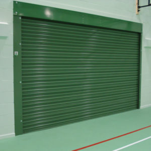 School Gym Fire Shutter, Westwood Security