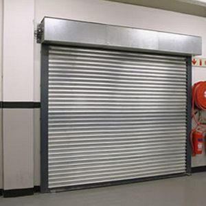 Silver Fire Shutter, Westwood Security