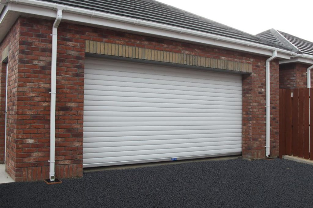 Industrial Insulated Garage Door