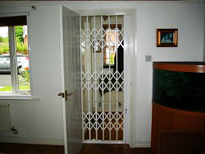 Domestic Internal Retractable Gates