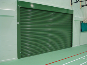 School Gym Fire Shutter