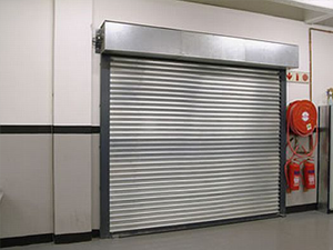 Galvanised Steel Fire Shutter