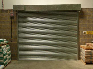 Warehouse Fire Shutter