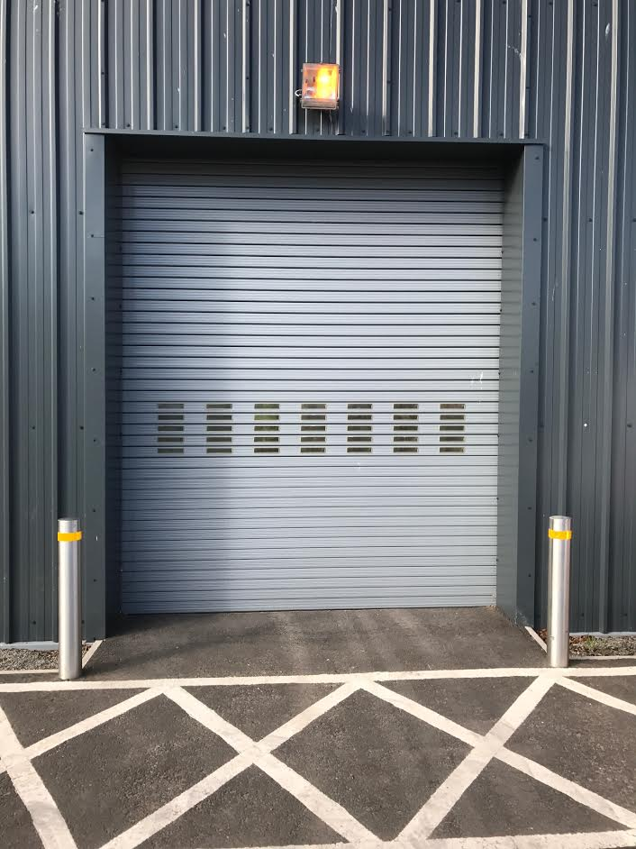 Twin Skin Insulated Roller Shutters, Birmingham 2