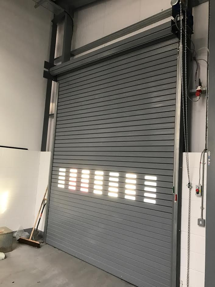 Twin Skin Insulated Roller Shutters, Birmingham 3