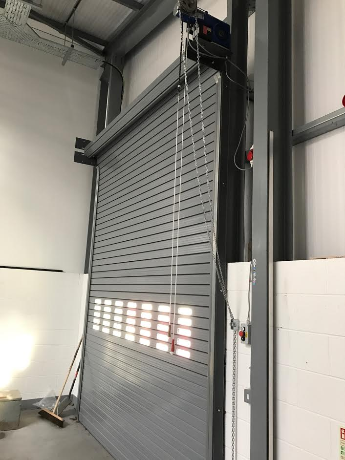 Twin Skin Insulated Roller Shutters, Birmingham