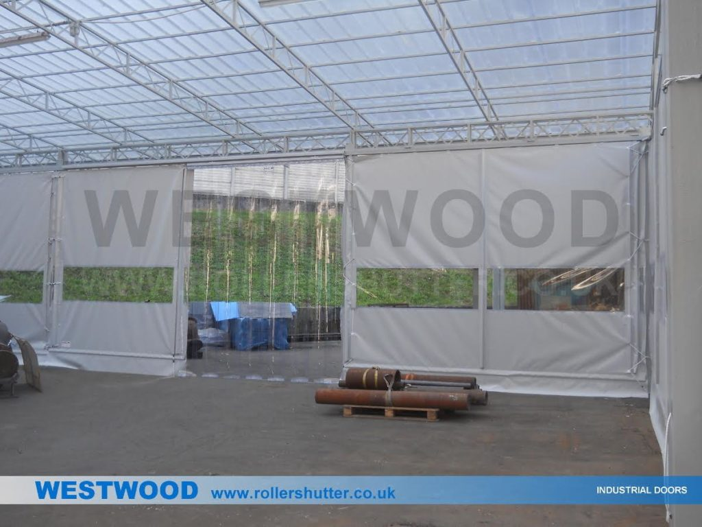 PVC-Partition-Curtain-Walling-5-Westwood Security Shutters Ltd.