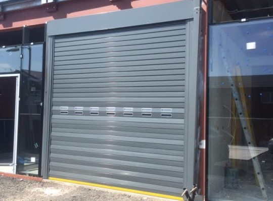 External Sectional Doors