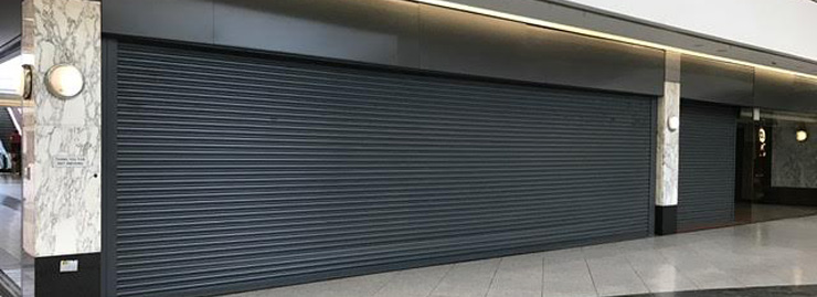 Shopping Centre Roller Shutter