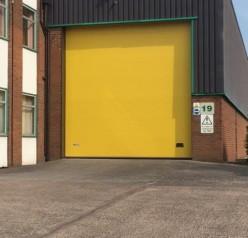 Sectional Door, Manchester