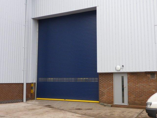Insulated-Industrial-Doors- Westwood Security Shutters Ltd.