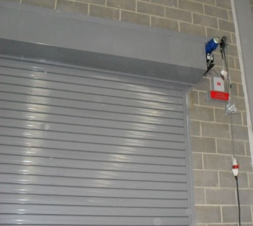 Twin Skin Insulated Fireshutters