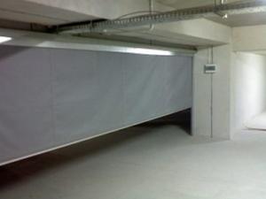 Fire Curtain- Westwood Security Shutters Ltd.