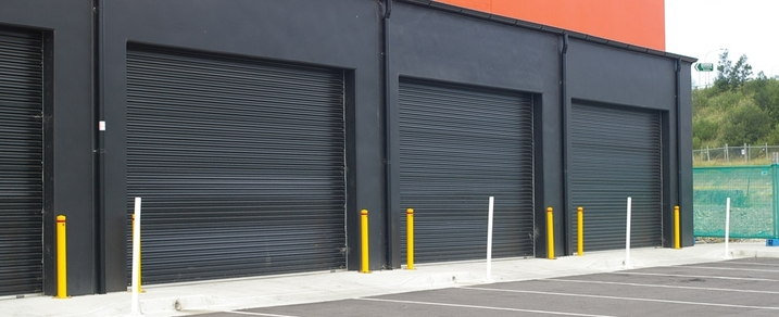 Cannock roller shutters by westwood security