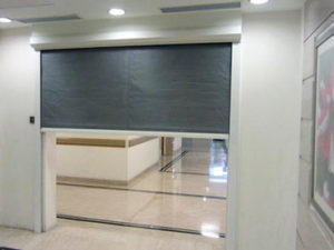 Interior Fire Curtain- Westwood Security Shutters Ltd.
