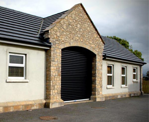 Industrial Insulated Domestic Roller Shutter- Ashbourne