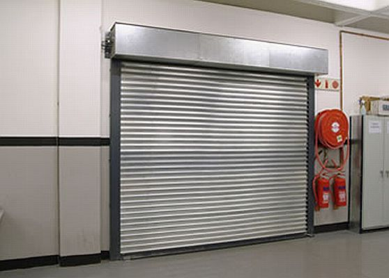 School Fire Shutter- Westwood Security Shutters Ltd