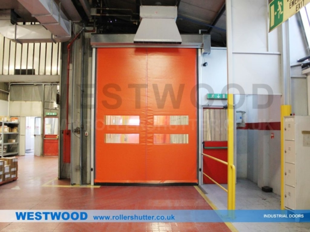 Warehouse High Speed Doors Kendal- Westwood Security Shutters Ltd.