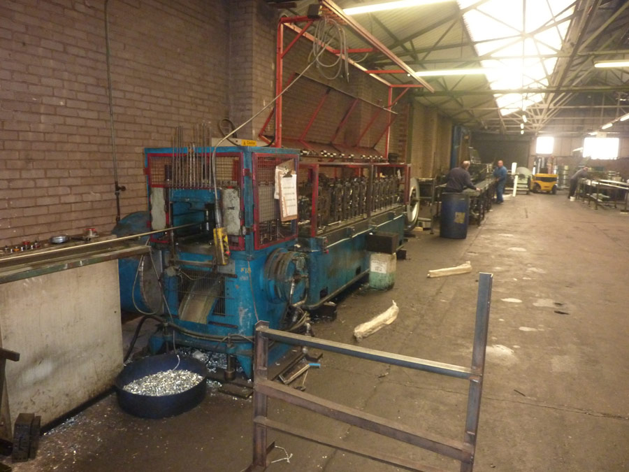Angle Rolling Mill- Westwood Security Shutters Ltd