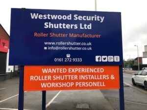 Westwood Security Shutters Jobs Ad