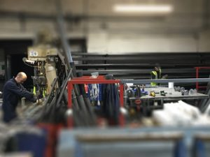 Manufacturing Roller Shutters At Westwood 2