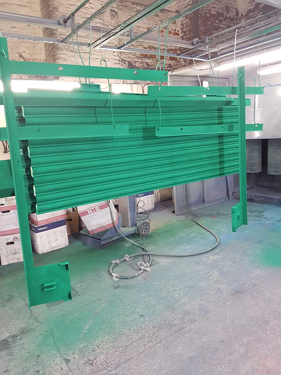 Roller Shutter Powder Coating