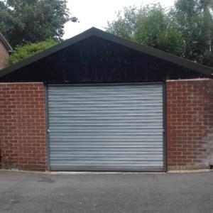 Steel Garage Roller Shutter London- Westwood Security Shutters