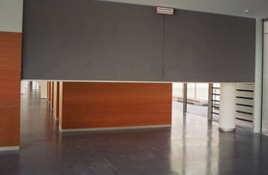 Large Fire Curtain- Westwood Security Shutters Ltd.