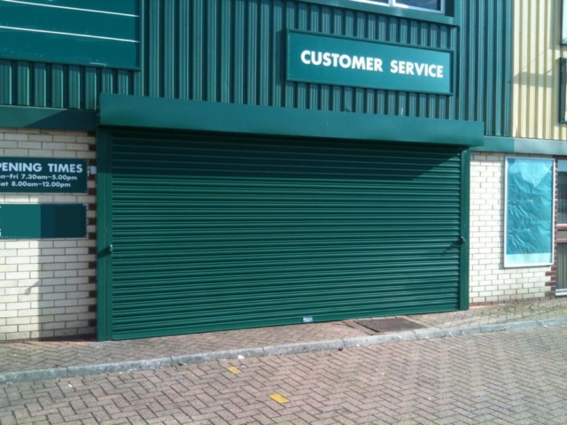 Powder Coated Roller Shutter- Westwood SecurityShutters Ltd.