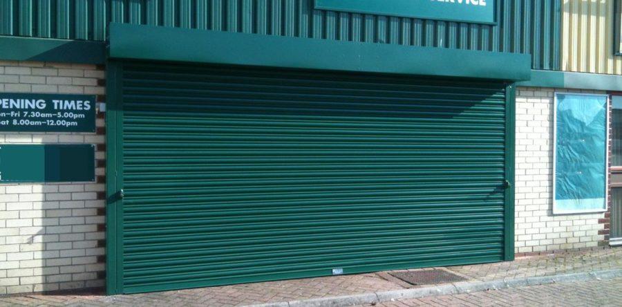 Powder Coated Roller Shutter, Milton Keynes