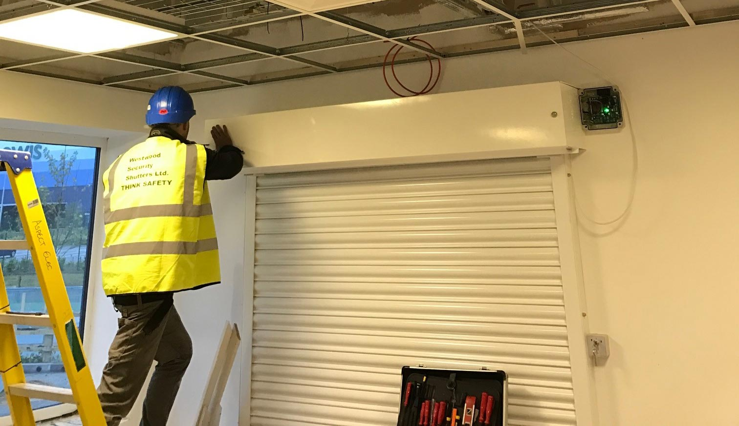 Fire-Shutter Installation, Milton Keynes- Wetswood Security Shutters Ltd.