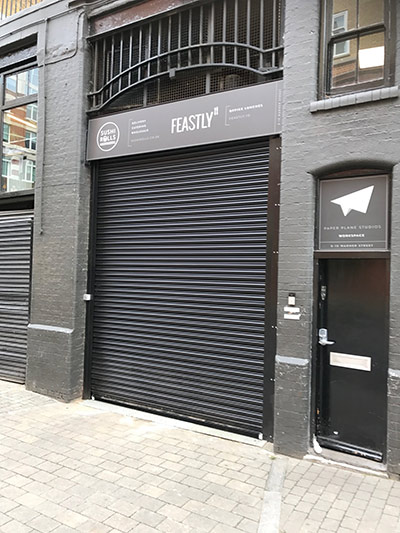 RollerShutter Shop Front- Westwood Security Shutters