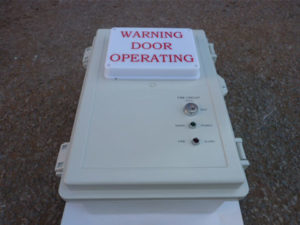 Fire-Warning-Panel-Westwood Security Shutters- Dronfield