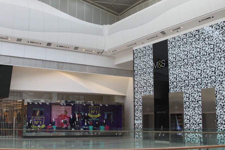 Fire Curtain Shopping Center 1