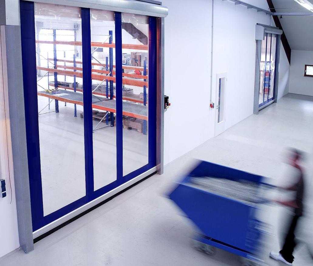 Transparent High Speed Door