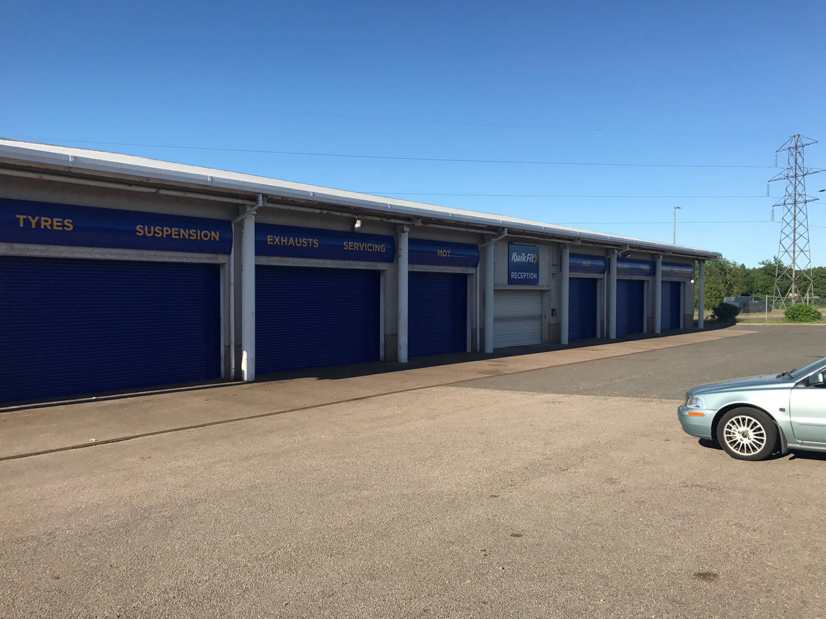 KwikFit Roller Shutters- Westwood Security Shutters