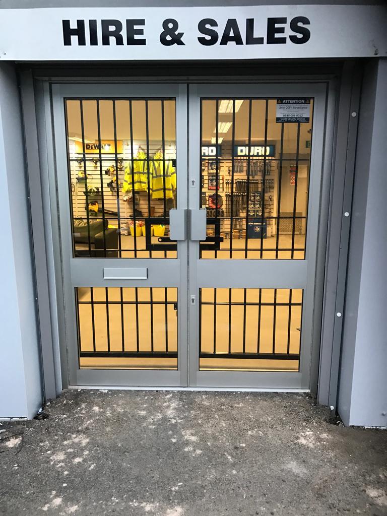 Steel Bar Gate