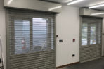 Roller Shutters with Perforated Lath, London